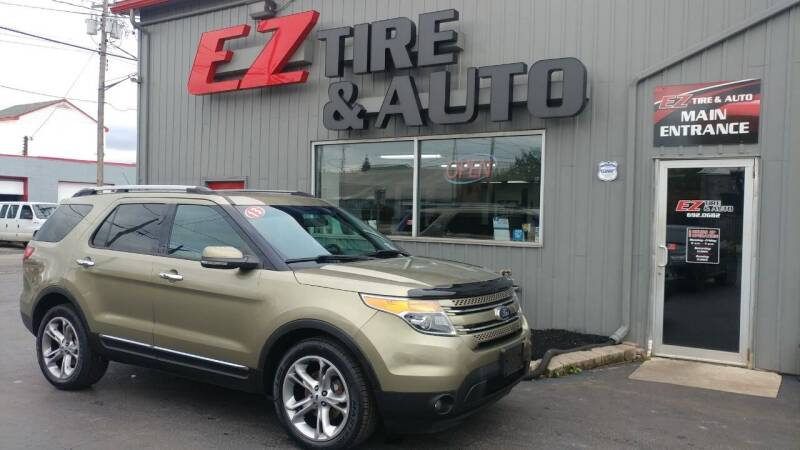 2013 Ford Explorer for sale at EZ Tire & Auto in North Tonawanda NY