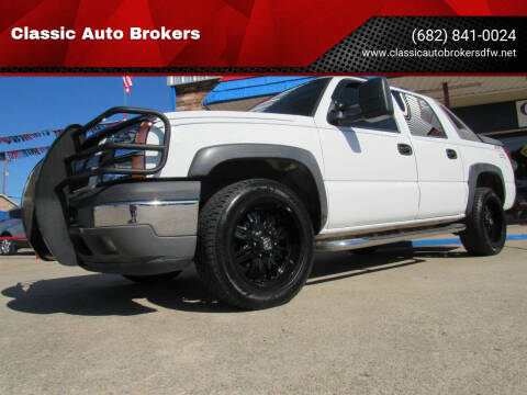 2005 Chevrolet Avalanche for sale at Classic Auto Brokers in Haltom City TX