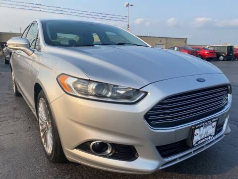 2016 Ford Fusion for sale at VIP Auto Sales & Service in Franklin OH