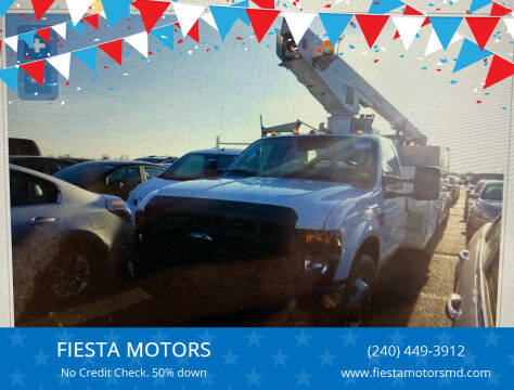 2008 Ford F-350 Super Duty for sale at FIESTA MOTORS in Hagerstown MD