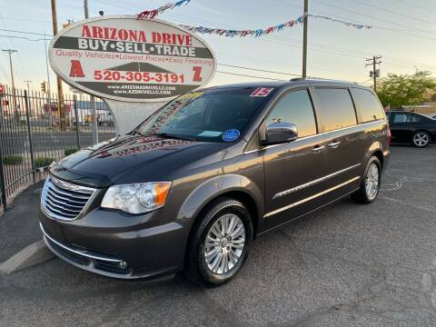 2015 Chrysler Town and Country for sale at Arizona Drive LLC in Tucson AZ