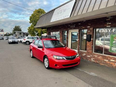 2008 Subaru Impreza for sale at M&M Auto Sales in Portland OR