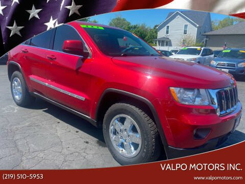 2011 Jeep Grand Cherokee for sale at Valpo Motors Inc. in Valparaiso IN