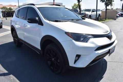 2018 Toyota RAV4 for sale at DIAMOND VALLEY HONDA in Hemet CA