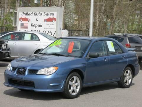 2007 Subaru Impreza for sale at United Auto Service in Leominster MA