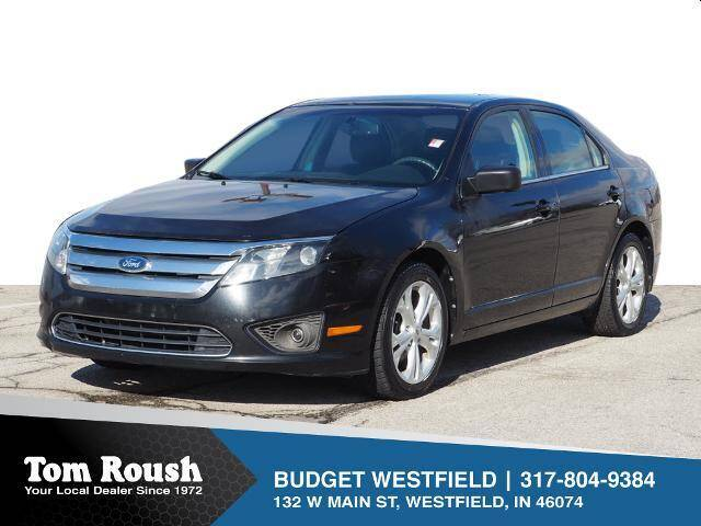 2012 Ford Fusion for sale at Tom Roush Budget Westfield in Westfield IN