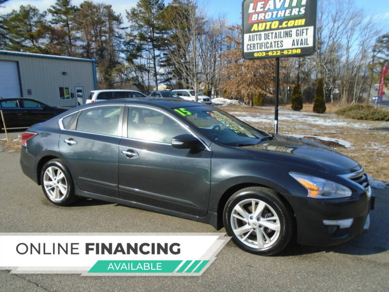 2015 Nissan Altima for sale at Leavitt Brothers Auto in Hooksett NH