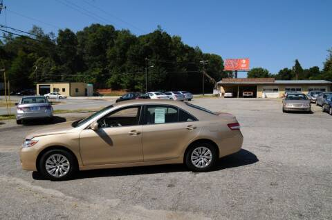 2011 Toyota Camry for sale at RICHARDSON MOTORS USED CARS - Buy Here Pay Here in Anderson SC