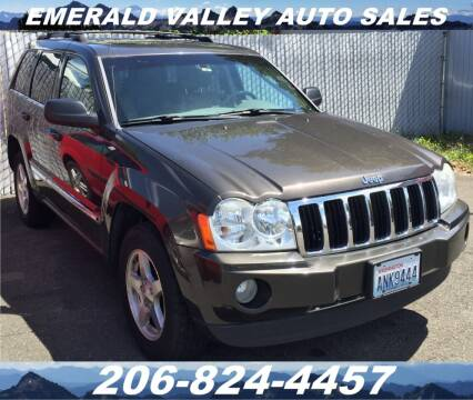 2005 Jeep Grand Cherokee for sale at Emerald Valley Auto Sales in Des Moines WA