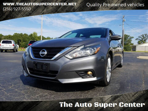 2016 Nissan Altima for sale at The Auto Super Center in Centre AL