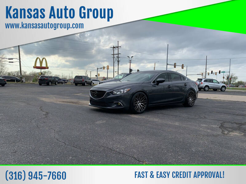 2016 Mazda MAZDA6 for sale at Kansas Auto Group in Wichita KS