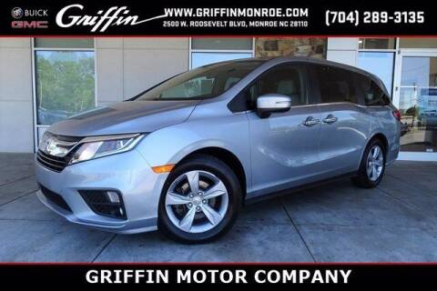 2018 Honda Odyssey for sale at Griffin Buick GMC in Monroe NC