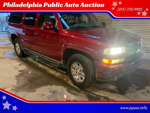 2004 Chevrolet Suburban for sale at Philadelphia Public Auto Auction in Philadelphia PA