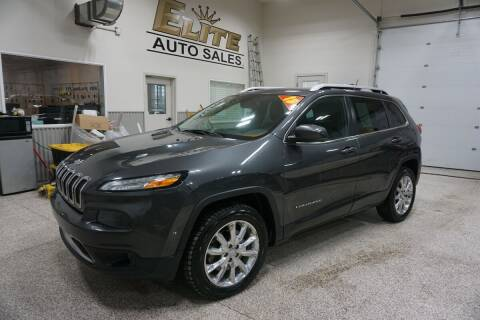 2015 Jeep Cherokee for sale at Elite Auto Sales in Ammon ID