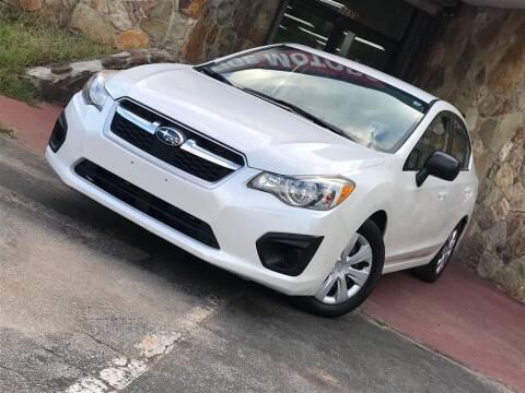 2012 Subaru Impreza for sale at Atlanta Prestige Motors in Decatur GA
