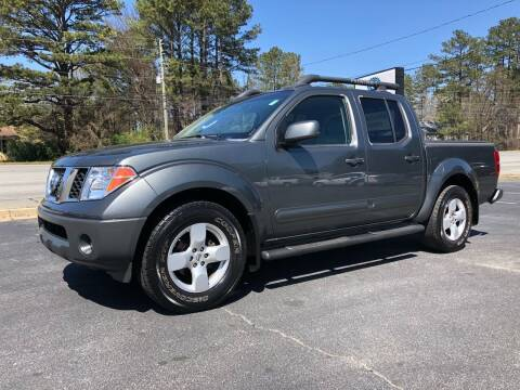 2006 Nissan Frontier for sale at GTO United Auto Sales LLC in Lawrenceville GA