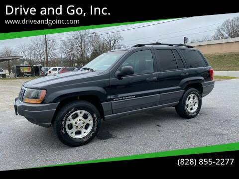 2001 Jeep Grand Cherokee for sale at Drive and Go, Inc. in Hickory NC