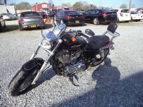 2013 Harley-Davidson XL 1200 for sale at PICAYUNE AUTO SALES in Picayune MS