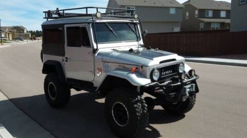 1967 Toyota Land Cruiser for sale at Classic Car Deals in Cadillac MI