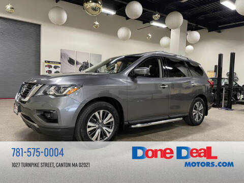 2017 Nissan Pathfinder for sale at DONE DEAL MOTORS in Canton MA