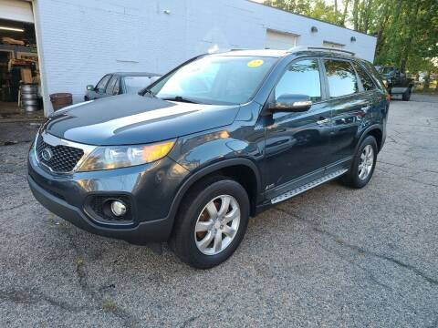 2011 Kia Sorento for sale at Devaney Auto Sales & Service in East Providence RI