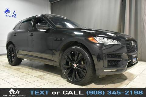 2018 Jaguar F-PACE for sale at AUTO HOLDING in Hillside NJ