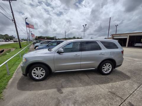 2014 Dodge Durango for sale at BIG 7 USED CARS INC in League City TX