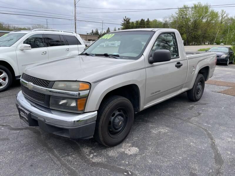 2004 Chevrolet Colorado for sale at ARG Auto Sales in Jackson MI