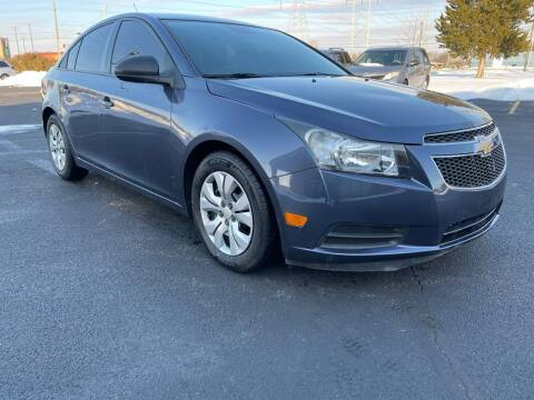 2013 Chevrolet Cruze for sale at Quality Motors Inc in Indianapolis IN