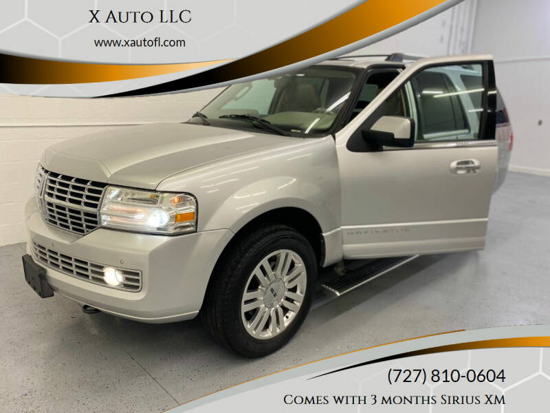 2011 Lincoln Navigator for sale at X Auto LLC in Pinellas Park FL