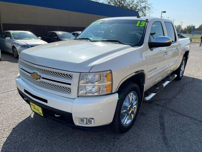2013 Chevrolet Silverado 1500 for sale at M.A.S.S. Motors in Boise ID