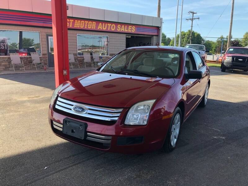 2007 Ford Fusion for sale at Best Motor Auto Sales in Geneva OH