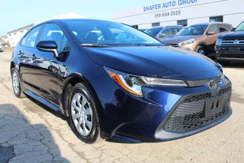 2020 Toyota Corolla for sale at SHAFER AUTO GROUP in Columbus OH