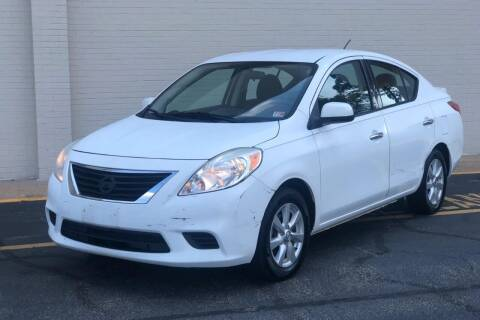 2014 Nissan Versa for sale at Carland Auto Sales INC. in Portsmouth VA
