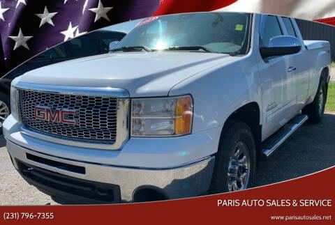 2011 GMC Sierra 1500 for sale at Paris Auto Sales & Service in Big Rapids MI