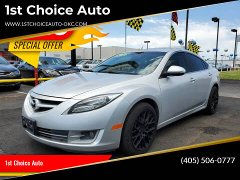 2012 Mazda MAZDA6 for sale at 1st Choice Auto L.L.C in Oklahoma City OK