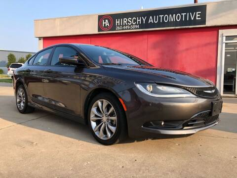 2016 Chrysler 200 for sale at Hirschy Automotive in Fort Wayne IN