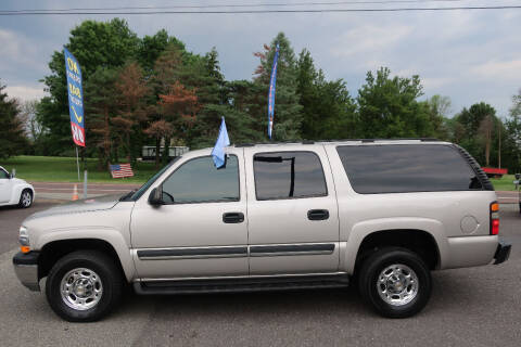2004 Chevrolet Suburban for sale at GEG Automotive in Gilbertsville PA