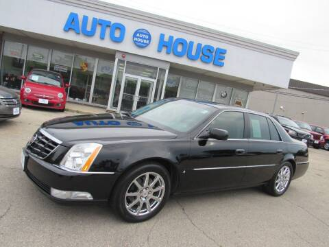 2009 Cadillac DTS for sale at Auto House Motors in Downers Grove IL