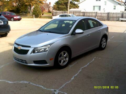 2013 Chevrolet Cruze for sale at Fred Elias Auto Sales in Center Line MI