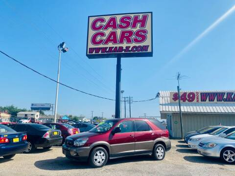 2004 Buick Rendezvous for sale at www.CashKarz.com in Dallas TX