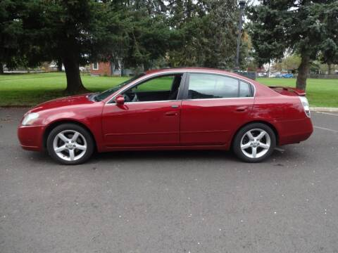 2006 Nissan Altima for sale at TONY'S AUTO WORLD in Portland OR
