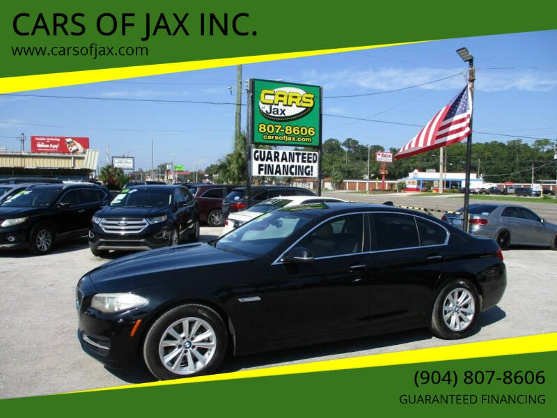 2014 BMW 5 Series for sale at CARS OF JAX INC. in Jacksonville FL