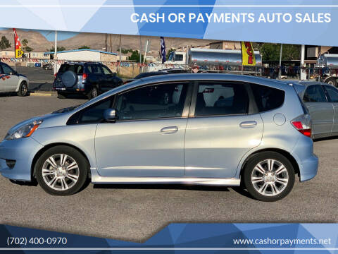2009 Honda Fit for sale at CASH OR PAYMENTS AUTO SALES in Las Vegas NV