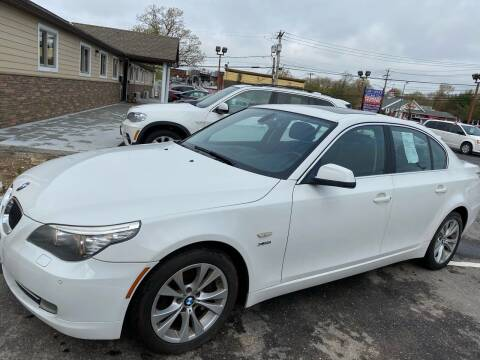 2010 BMW 5 Series for sale at Primary Motors Inc in Commack NY