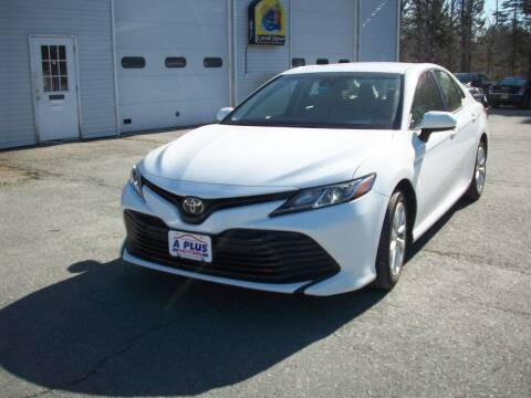 2018 Toyota Camry for sale at A-Plus Motors in Alton ME