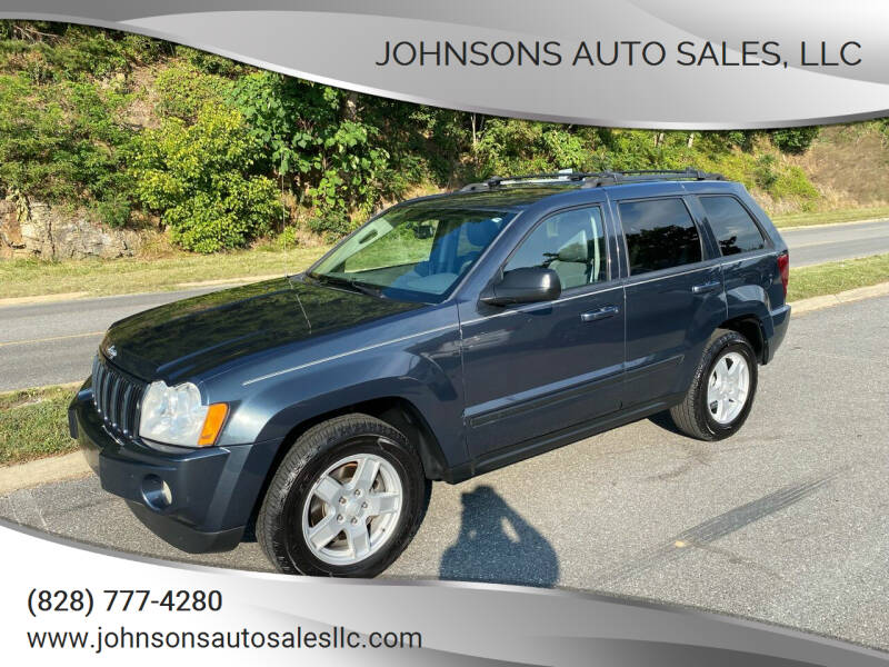 2007 Jeep Grand Cherokee for sale at Johnsons Auto Sales, LLC in Marshall NC