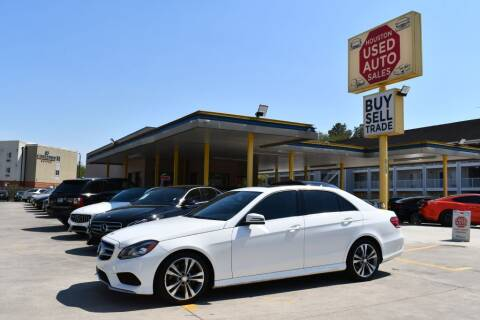 2016 Mercedes-Benz E-Class for sale at Houston Used Auto Sales in Houston TX