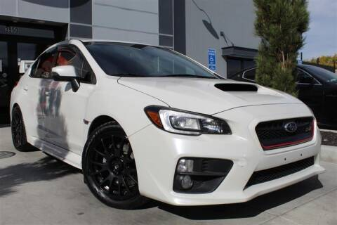 2015 Subaru WRX for sale at UNITED AUTO in Millcreek UT