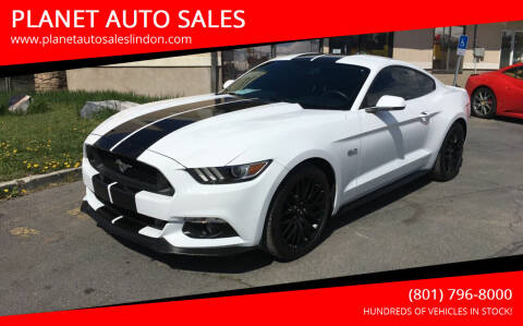 2017 Ford Mustang for sale at PLANET AUTO SALES in Lindon UT